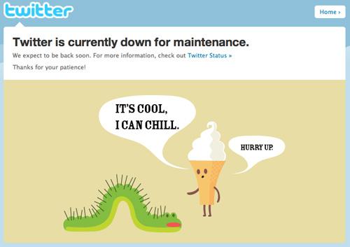 新年のあいさつ殺到でTwitterのサーバがダウン