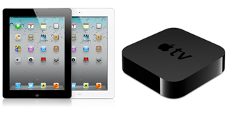iPad HDとApple TV