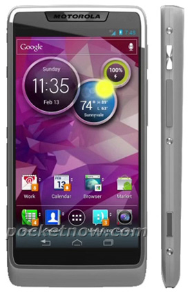 Motorola Medfieldスマートフォン