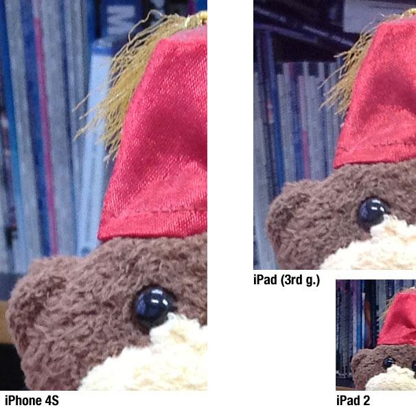新iPadのカメラ性能