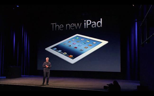ティム・クックCEO、新型iPadを発表