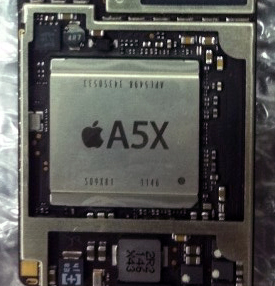 「A5X」for iPad 3
