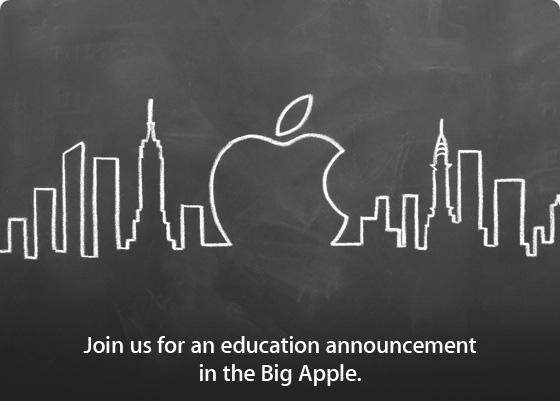 Apple、電子教科書発行ツール発表か