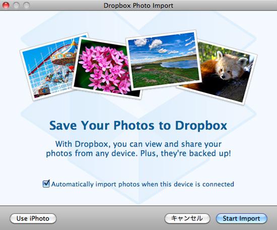 Dropbox ベータ版