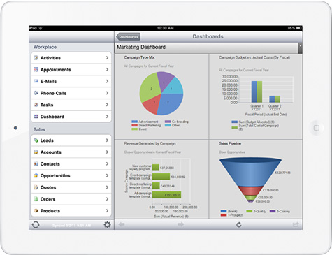 Dynamics CRM for iPhone/iPad