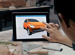 iPad 3発表イベント向けデモ/CM用アプリ開発