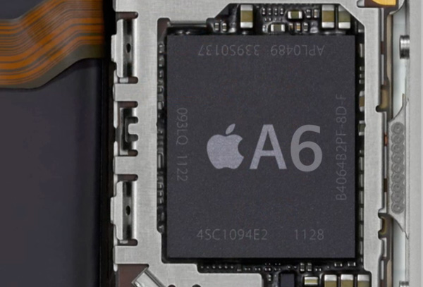 iPhone 5「A6」チップ