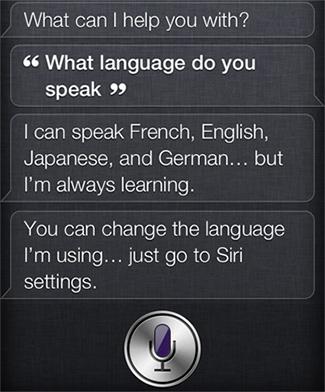 Siri、日本語サポートへ