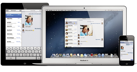 OS X Mountain Lion「Messages」