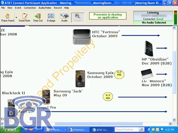 米AT&T「Windows Mobile」2009年後半ロードマップ