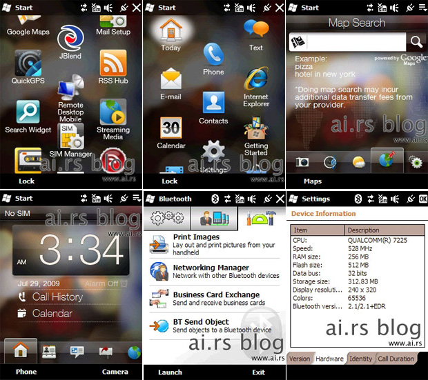HTC Mega/Windows Mobile 6.5
