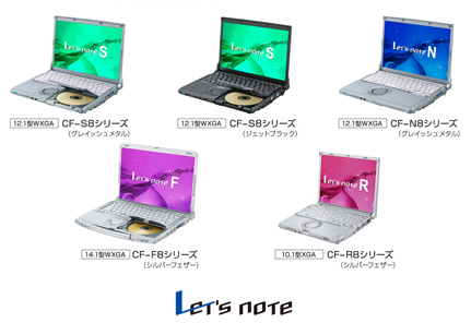Let'snote 2009年冬モデル