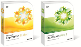「Microsoft Expression 3」