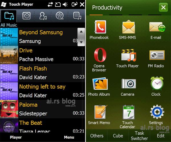 OMNIA II/Windows Mobile 6.5 Pro