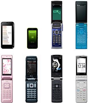 au 携帯電話 2009年 夏モデル